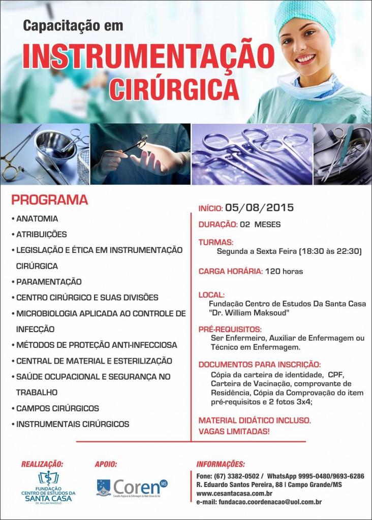 Curso tecnico em instrumentacao cirurgica