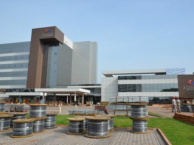 Hospital Cassems de Campo Grande (Foto: Ernesto Franco/Cassems)