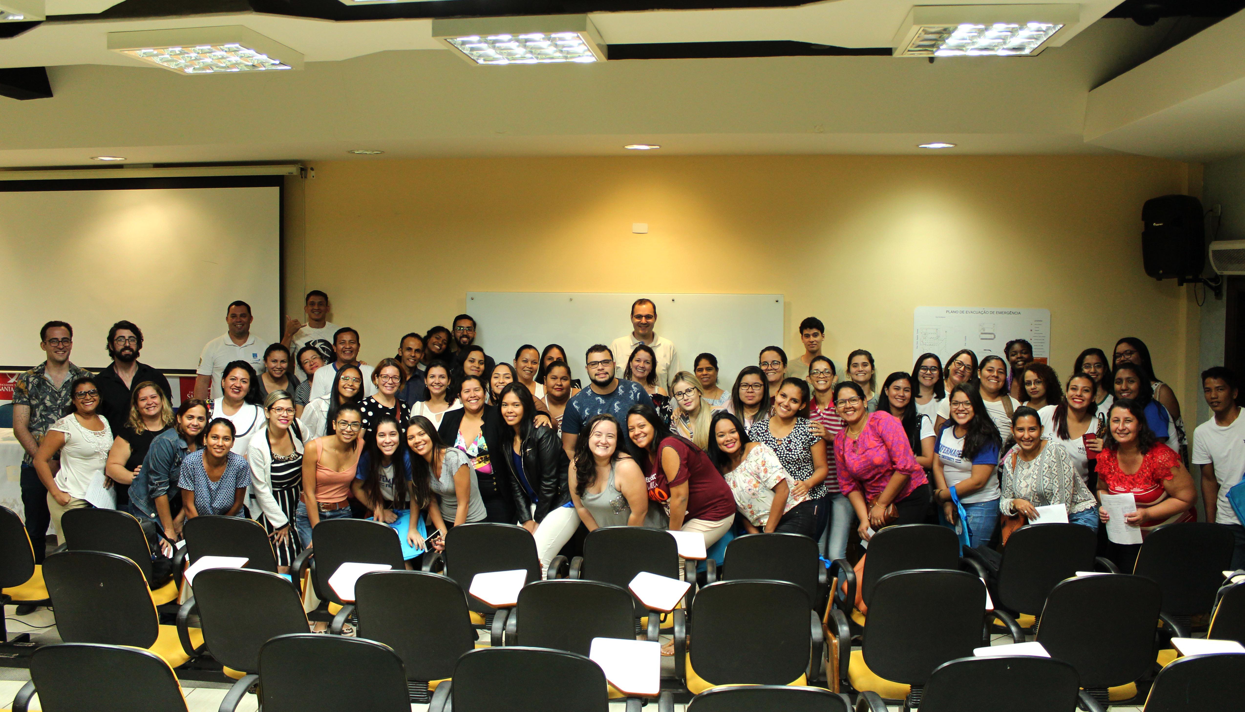 ebb3c3d73 Estudantes e profissionais de Corumbá falaram de saúde pública na  fronteira; saúde mental na Enfermagem; ética; e liderança – Foto:  Ascom/Coren-MS
